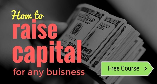 [FREE Course] How to raise capital for any business (Banner)