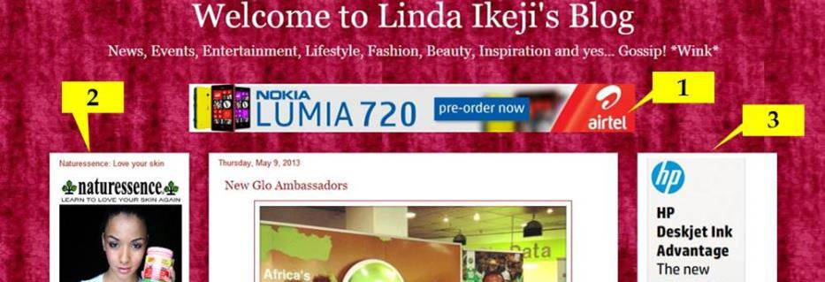 How does Linda Ikejis blog make money