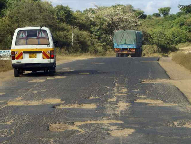 Transport and Haulage - bad African roads