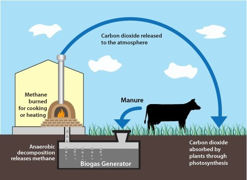 essay on biogas and gobar gas Porpatham [16] examined how bio-fuel from biomass can be applied as a fuel   of biogas with a composition that complies with added utilization potentialities in.