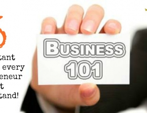 Business 101: Five Important Concepts Every Entrepreneur Must Understand To Succeed in Business