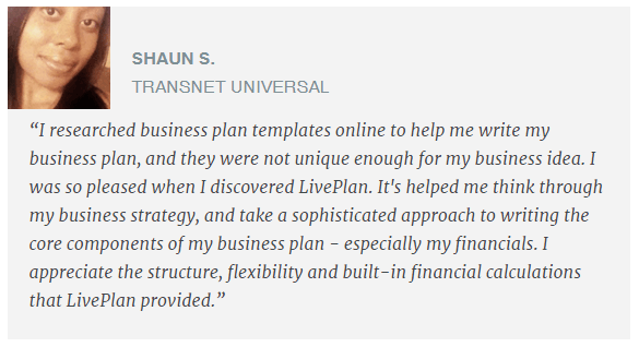 1.1 A Secret Tool to write a smart business plan 7