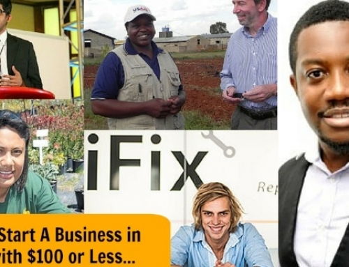 How To Start A Successful Business In Africa With $100 or Less. Here Are 5 Entrepreneurs Who Did It!