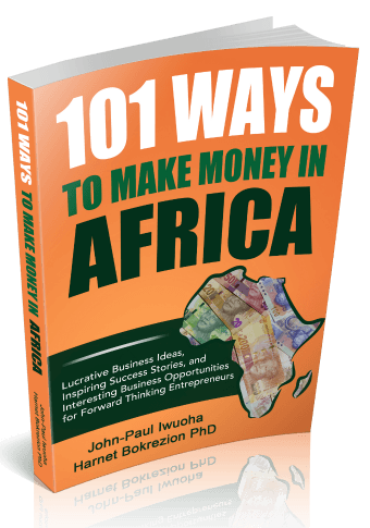 """101 Ways To Make Money in Africa - Book Image"""