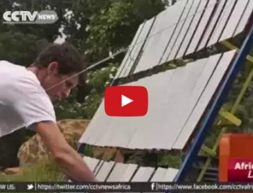 Wonderful! Meet the cooking stove that runs 100 percent on Solar Energy