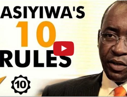 The Top 10 Rules For Success from Strive Masiyiwa, one of Africa's most successful entrepreneurs