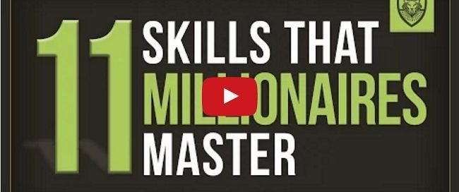11 Skills that Millionaires Master   YouTube