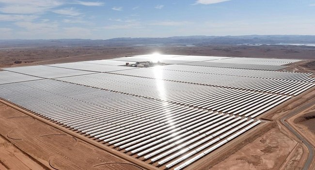 Amazing This Is Africa S Largest Solar Power Plant