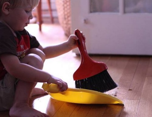 Kids who do home chores become more successful adults, according to this study