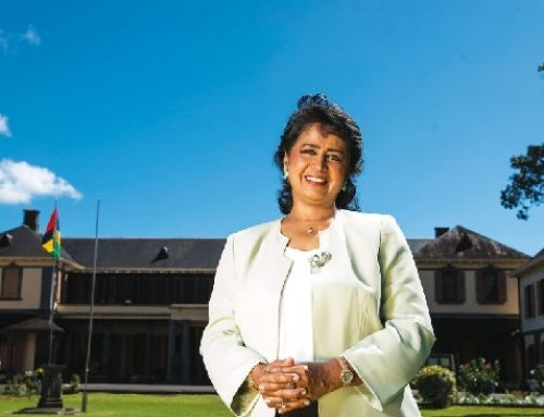 An interesting interview with Ameenah — scientist, entrepreneur and President of Mauritius