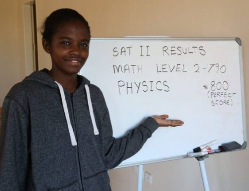 From Zambia to Harvard, and how she inspired her country's first Robotics team