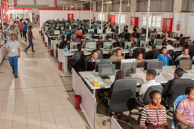 business opportunities in Africa -- outsourcing