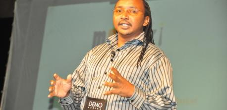 MKazi - Speaking at the DEMO Africa conference