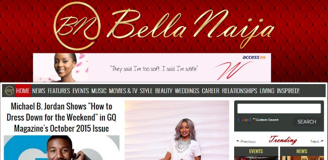 Bella Naija - Gossip Website