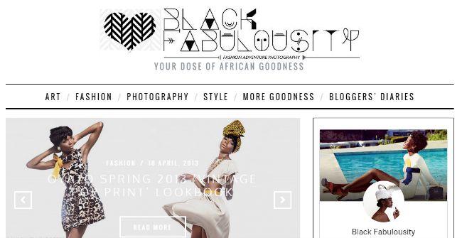 Black fabulousity - Interest blog