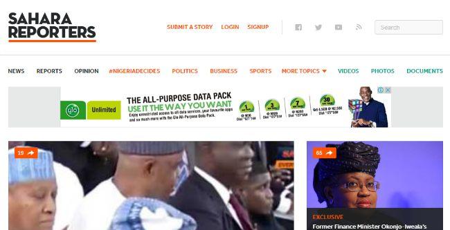 Sahara Reporters - News website