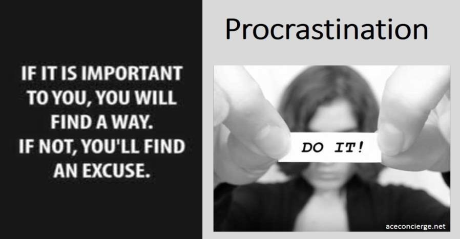 1.1 5 Steps to Avoid Procrastination 2