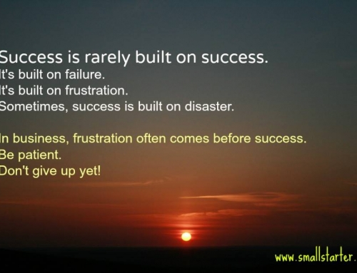 Learn from your failures. Your success may depend on it!