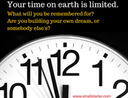 When will you start building your own dreams?
