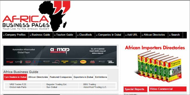 21. Top 30 Websites - Africa Business Pages