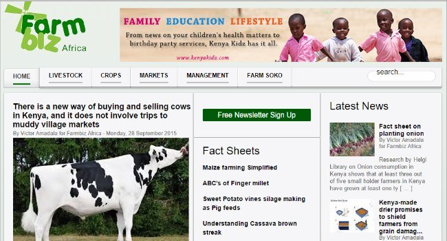 29. Top 30 Websites - Farm Biz Africa