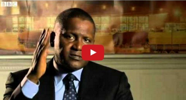 How I Became Rich: Aliko Dangote, Africa's Richest Man