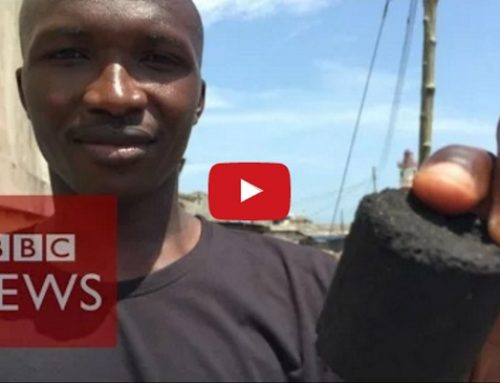 Making Charcoal from Human Waste — An Interesting African Solution to an African Problem