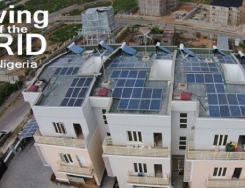 Impressive! This 10-Apartment Block in Nigeria Runs Exclusively on a Hybrid of Solar and Wind Power