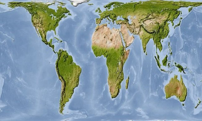 This map reveals a shocking truth about the real size of ...