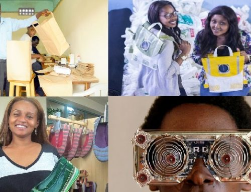 These are some of Africa's young and inspiring entrepreneurs in the recycling business