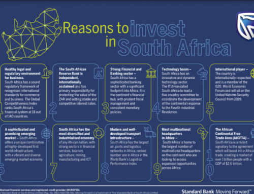 10 Interesting Reasons to invest in South Africa