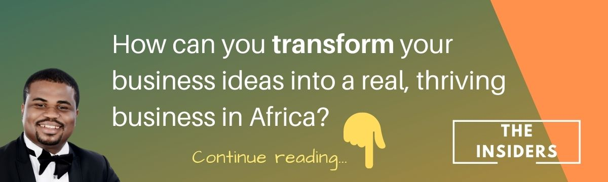 11 Big Business Opportunities in Africa 2021 -- article banner -- transform your ideas