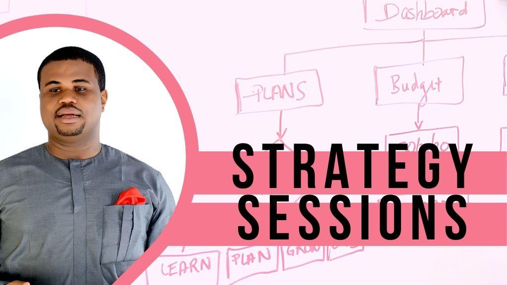 John-Paul Iwuoha -- VIP Strategy Sessions