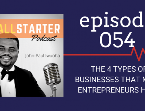SBP 054: The 4 Types of Businesses Most Entrepreneurs Have