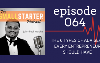 SBP 064 -- The 5 Types of Advisers Every Entrepreneur Should Have