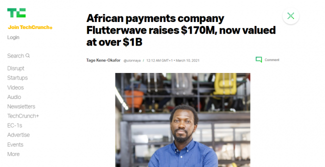 How to raise funds to start or grow business -- Flutterwave